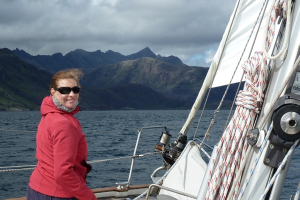 Cherokee sailing Scotland